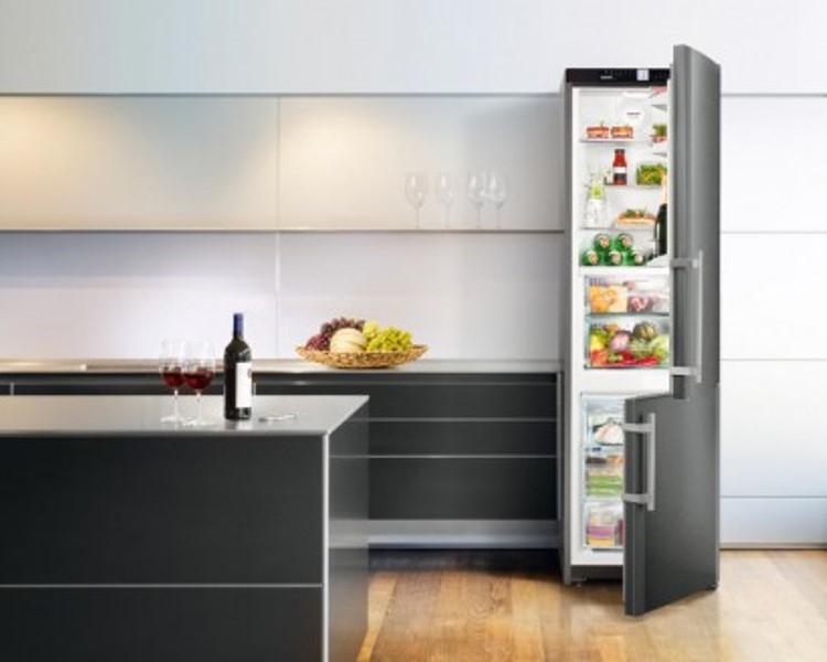 купить Двухкамерный холодильник Liebherr CBNPbs 3756 Украина фото 2