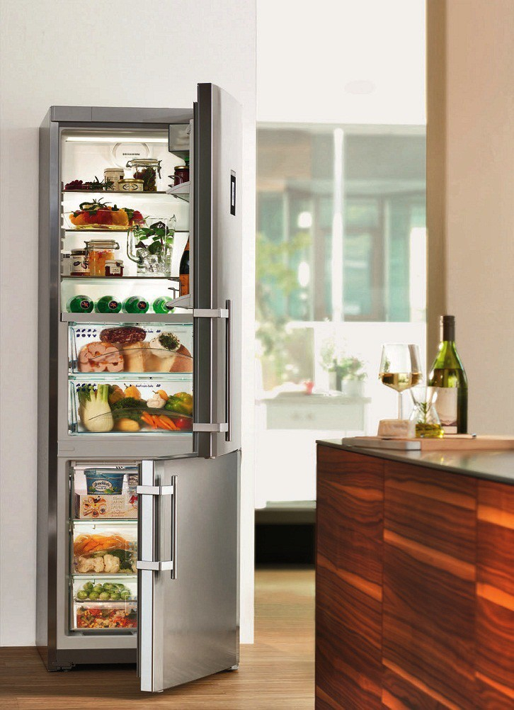 купить Двухкамерный холодильник Liebherr CBNPes 3956 Украина фото 5