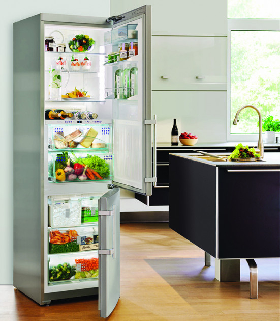 купить Двухкамерный холодильник Liebherr CBNPes 3967 Украина фото 8