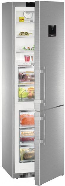 Двухкамерный холодильник Liebherr CBNPes 4858 купить украина
