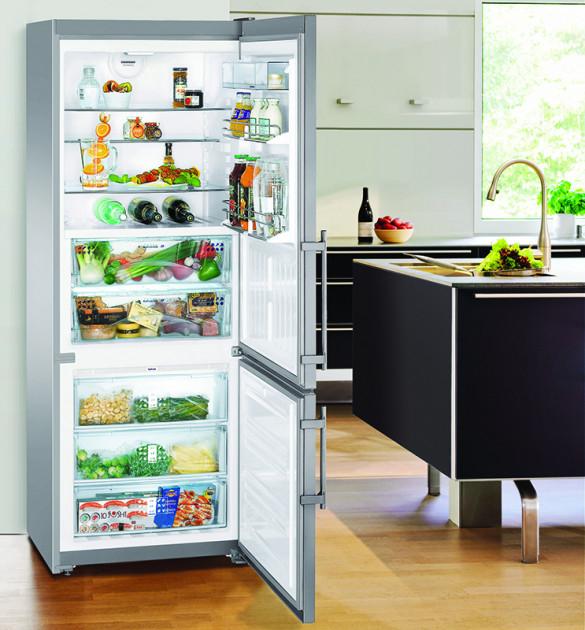 купить Двухкамерный холодильник Liebherr CBNPes 5156 Украина фото 5