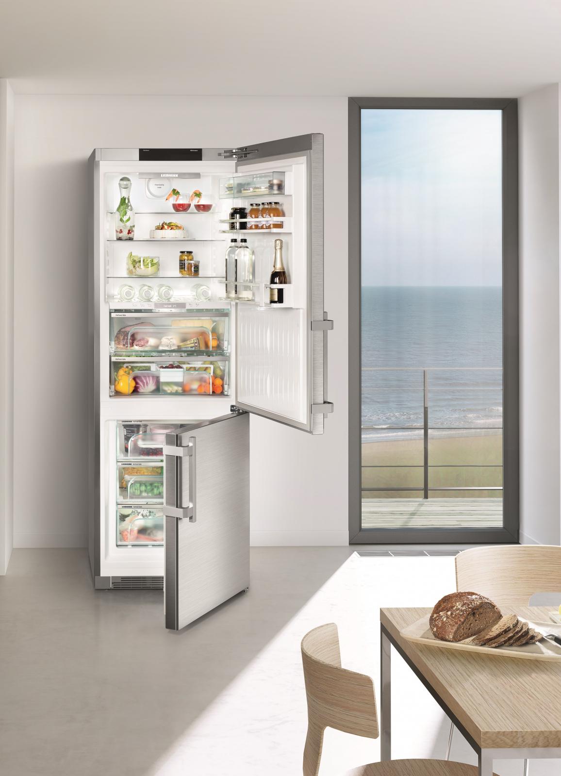 купить Двухкамерный холодильник Liebherr CBNPes 5758 Украина фото 6