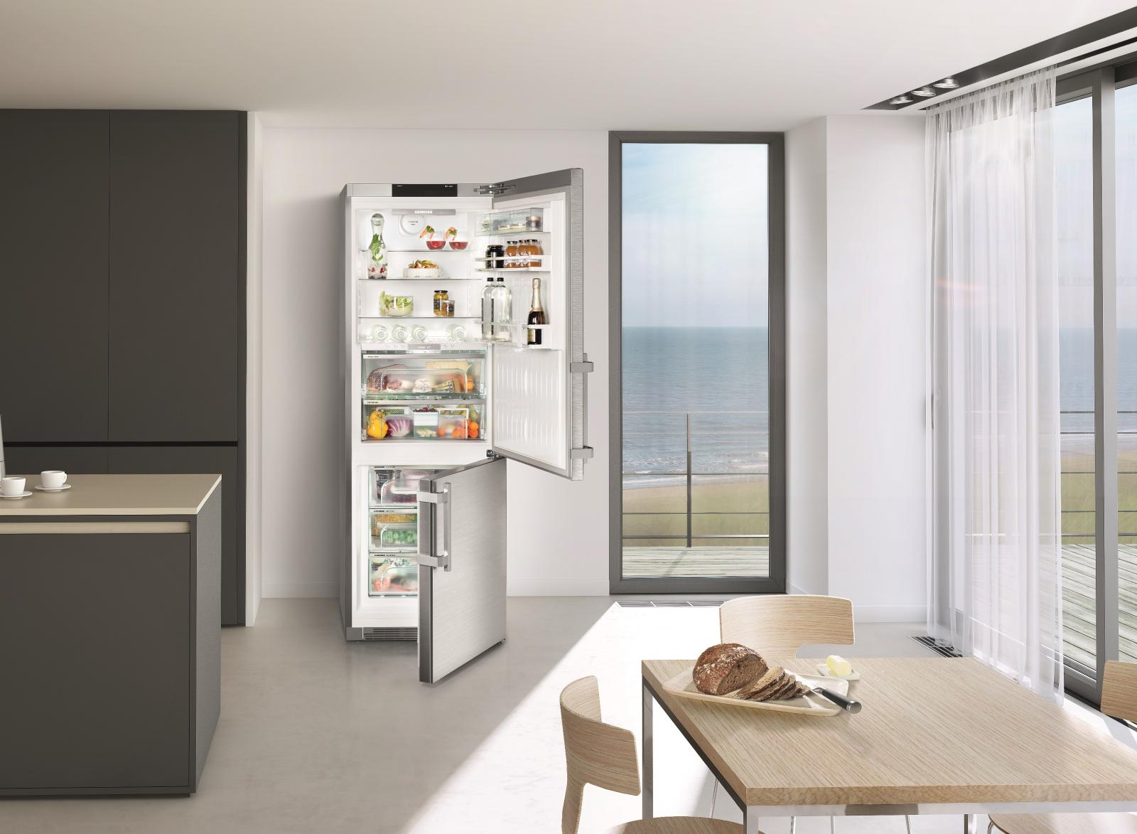 купить Двухкамерный холодильник Liebherr CBNPes 5758 Украина фото 7