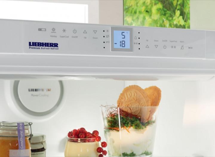 купить Двухкамерный холодильник Liebherr CBNPgw 3956 Украина фото 2