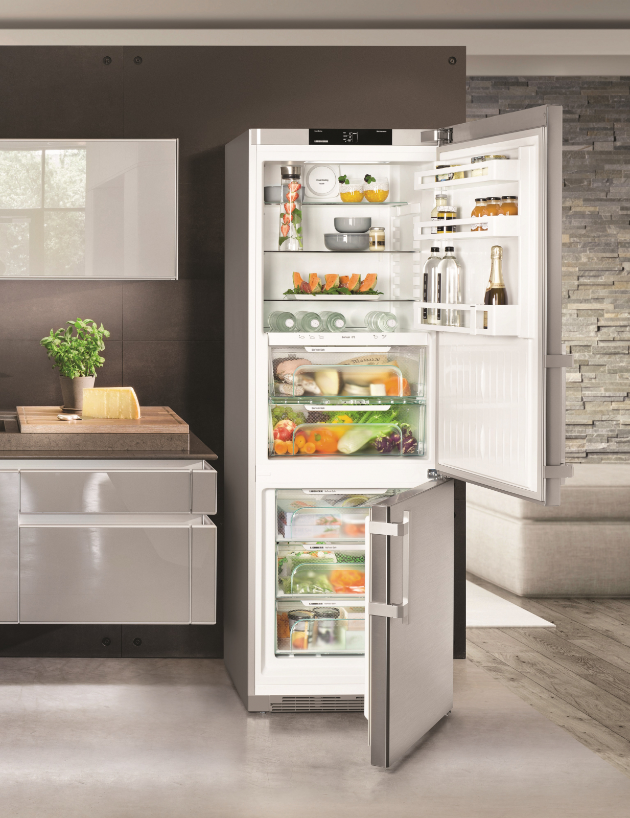 купить Двухкамерный холодильник Liebherr CBNef 5715 Украина фото 10