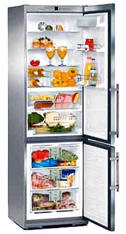 купить Двухкамерный холодильник Liebherr CBNes 3856 Украина фото 0