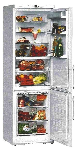 купить Двухкамерный холодильник Liebherr CBNes 3856 Украина фото 1