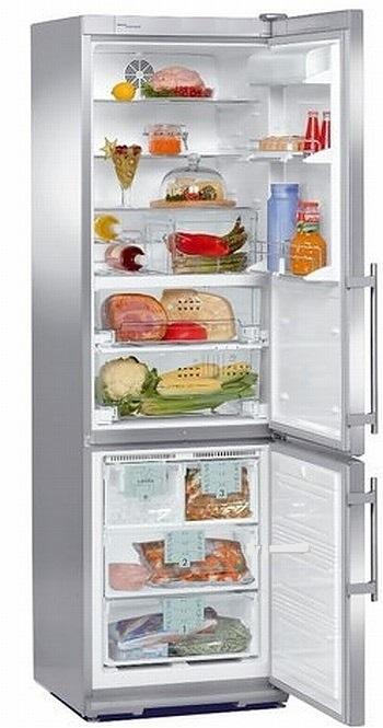 купить Двухкамерный холодильник Liebherr CBNes 3857 Украина фото 2