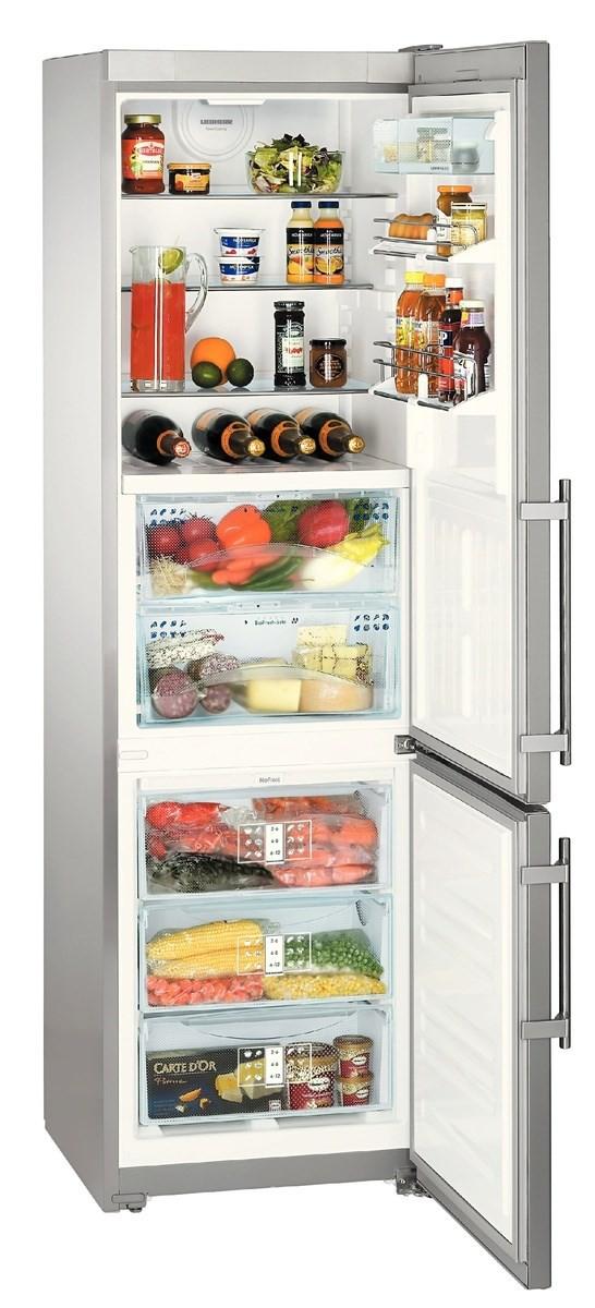 купить Двухкамерный холодильник Liebherr CBNes 3956 Украина фото 0