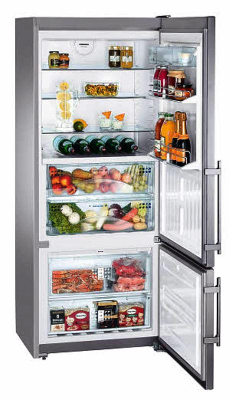 купить Двухкамерный холодильник Liebherr CBNes 4656 Украина фото 0