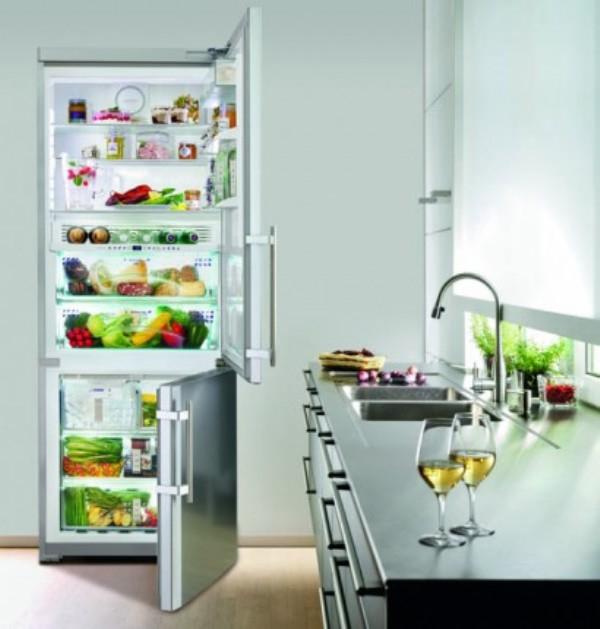 купить Двухкамерный холодильник Liebherr CBNes 5167 Украина фото 4
