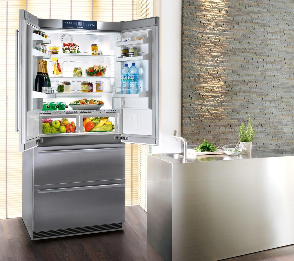 купить Двухкамерный холодильник Liebherr CBNes 6256 Украина фото 3