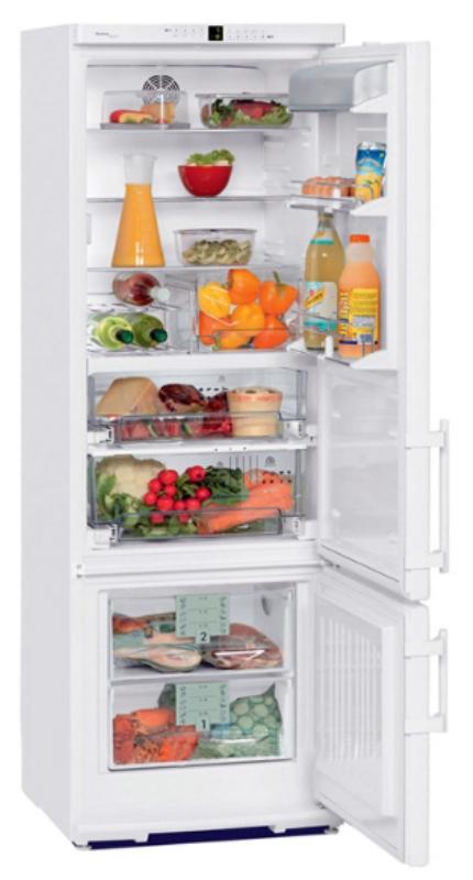 купить Двухкамерный холодильник Liebherr CBP 3656 Украина фото 0