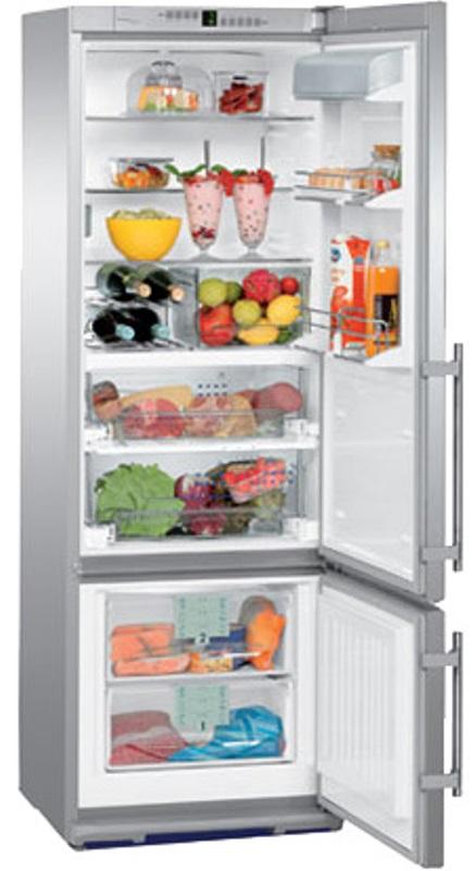 купить Двухкамерный холодильник Liebherr CBPes 3656 Украина фото 2