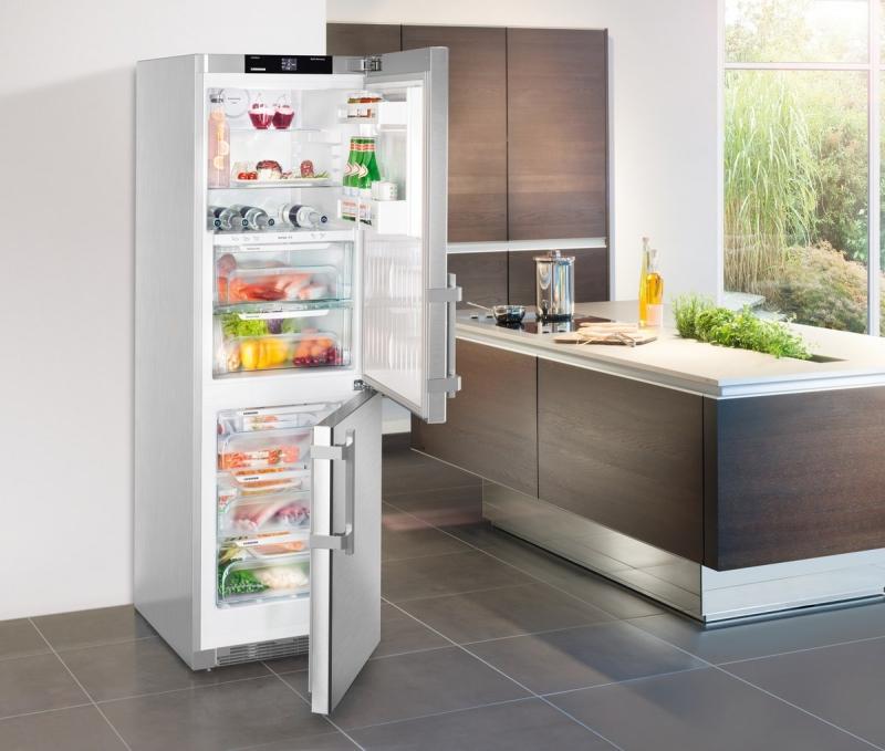 купить Двухкамерный холодильник Liebherr CBef 4315 Украина фото 2