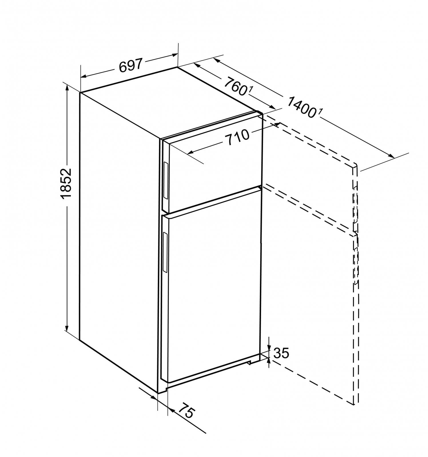 купить Двухкамерный холодильник Liebherr CTN 5215 Украина фото 1