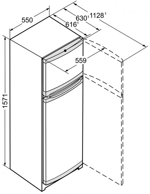 купить Двухкамерный холодильник Liebherr CTP 2921 Украина фото 4
