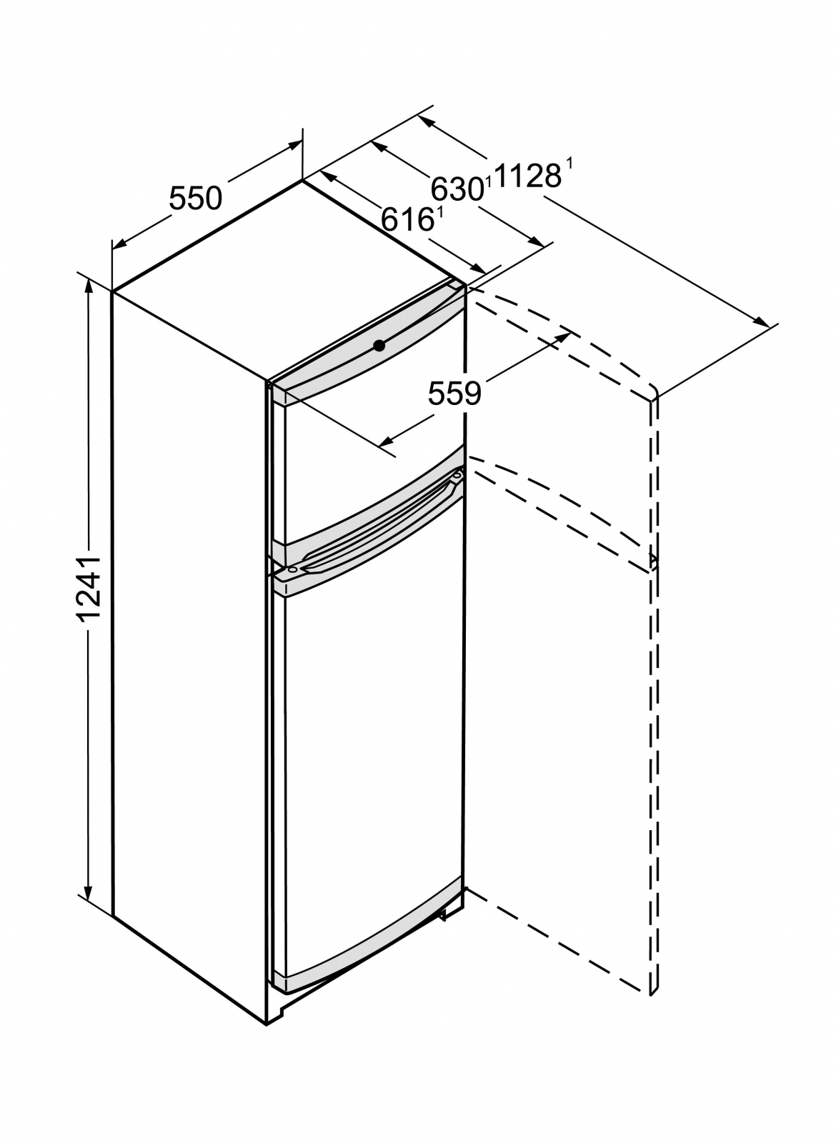 купить Двухкамерный холодильник Liebherr CTPwb 2121 Украина фото 5