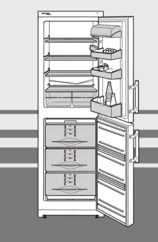 купить Двухкамерный холодильник Liebherr CUN 3021 Украина фото 3