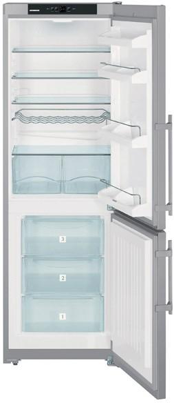 купить Двухкамерный холодильник Liebherr CUsl 3503 Украина фото 2