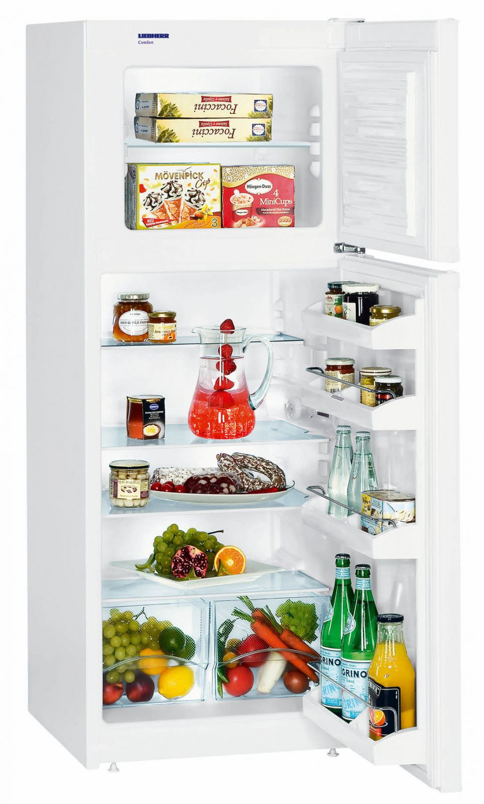 купить Двухкамерный комбинированный холодильник Liebherr CT 2011 Украина фото 0
