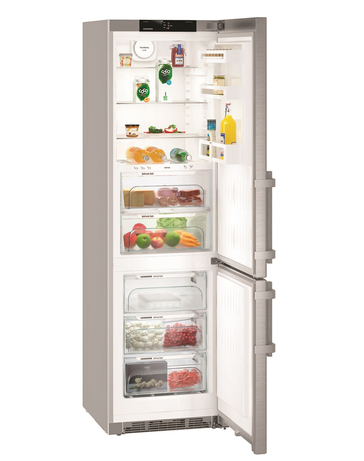 Двухкамерный холодильник Liebherr CBNEF 4835 купить украина