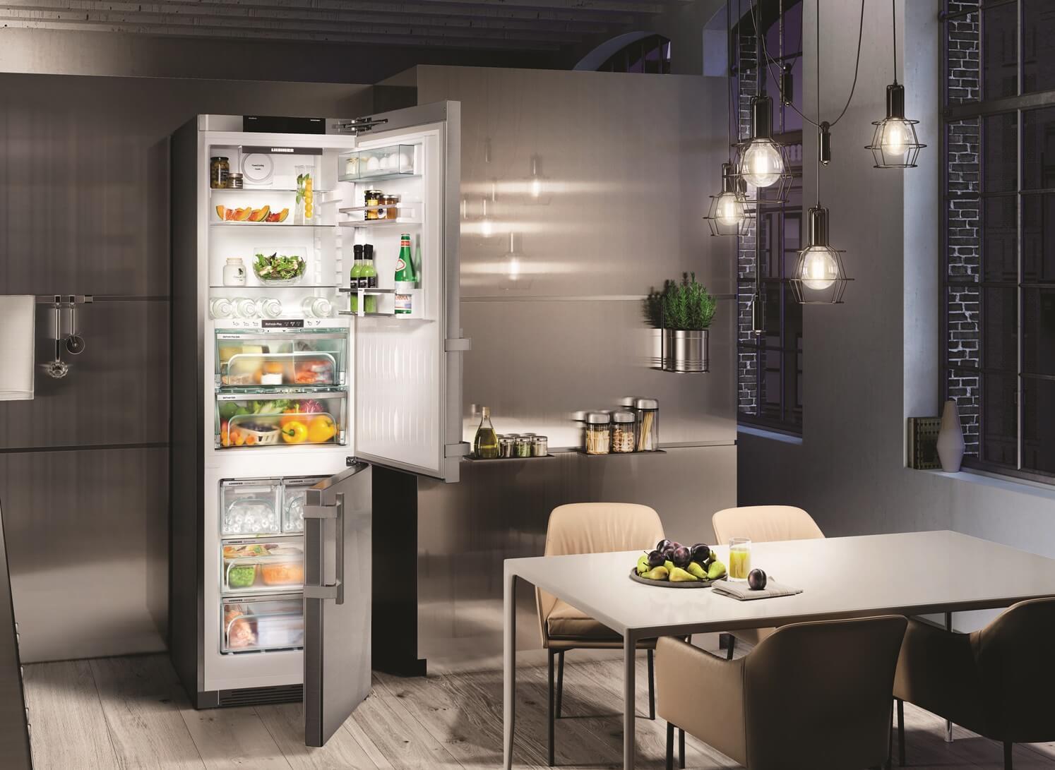 купить Двухкамерный холодильник Liebherr CBNPes 4878 Украина фото 7