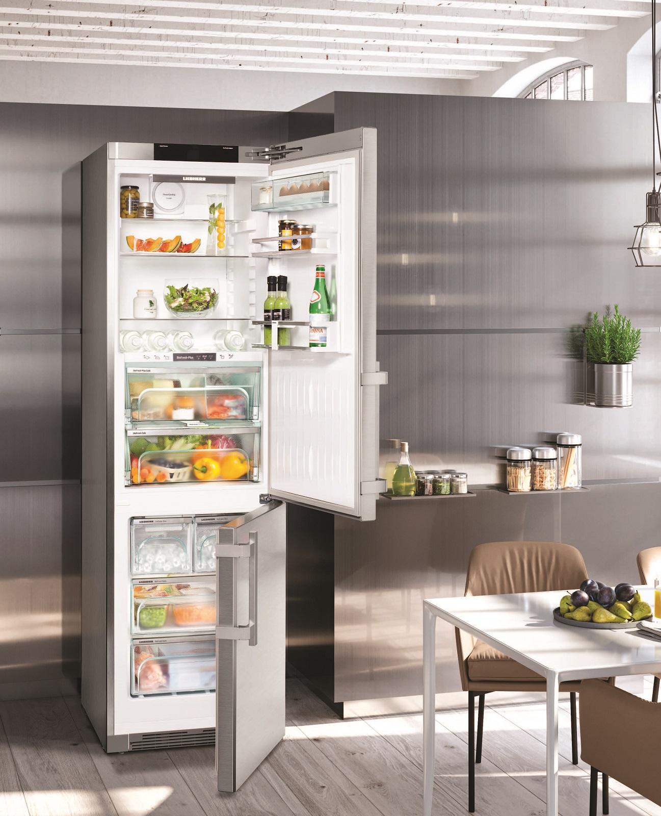 купить Двухкамерный холодильник Liebherr CBNes 4898 Украина фото 7