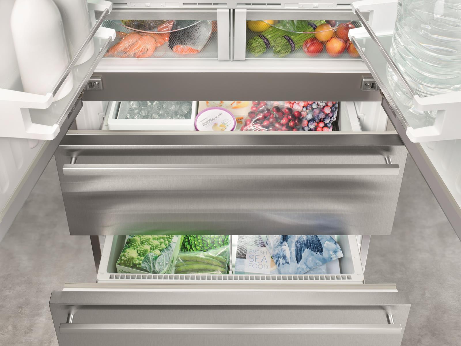 купить Двухкамерный холодильник Liebherr CBNes 6256 Украина фото 5