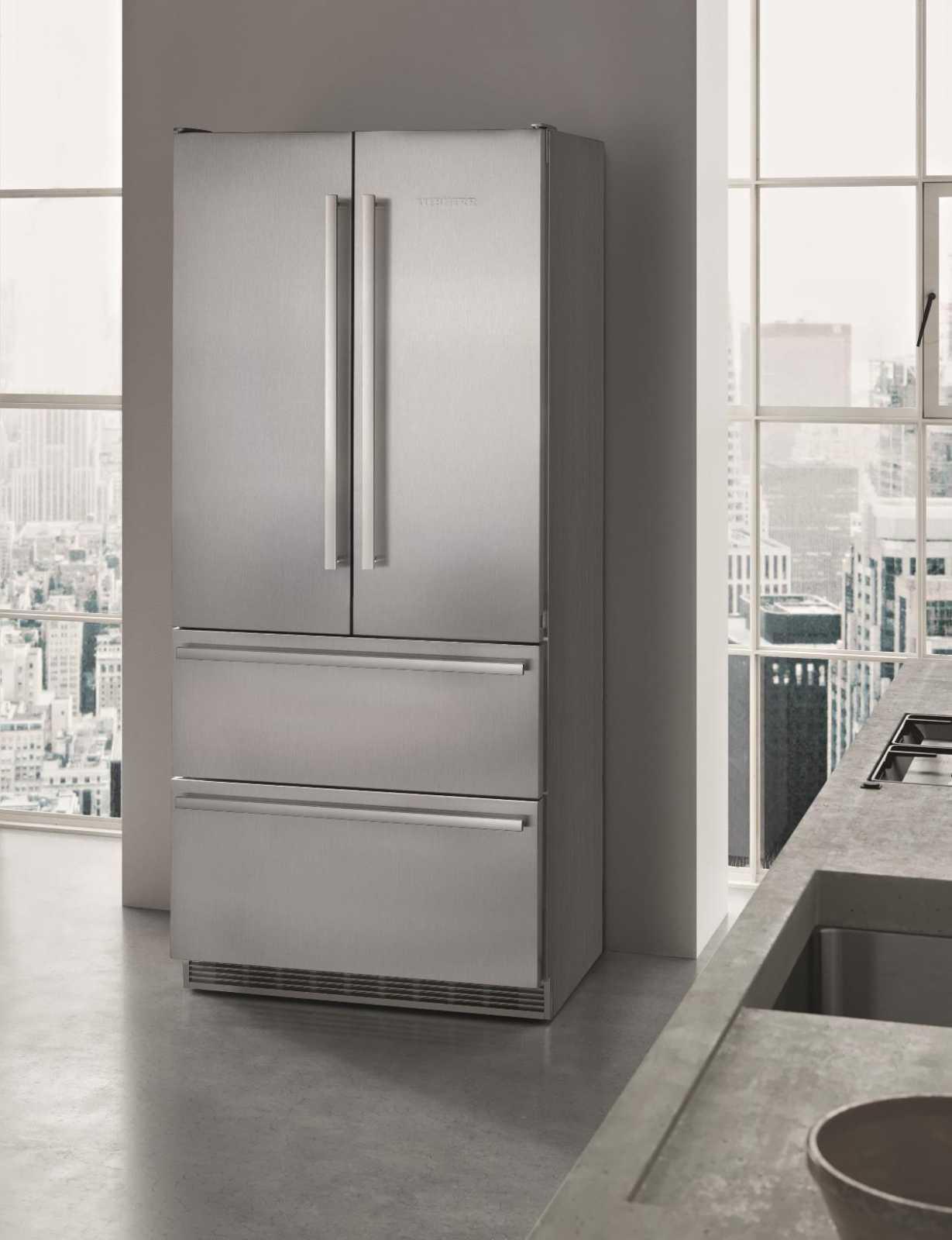 купить Двухкамерный холодильник Liebherr CBNes 6256 Украина фото 4