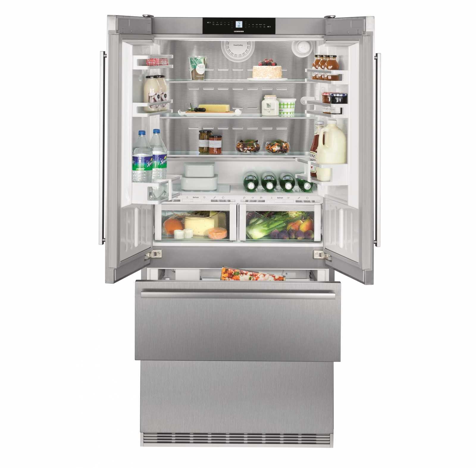 Двухкамерный холодильник Liebherr CBNes 6256 купить украина