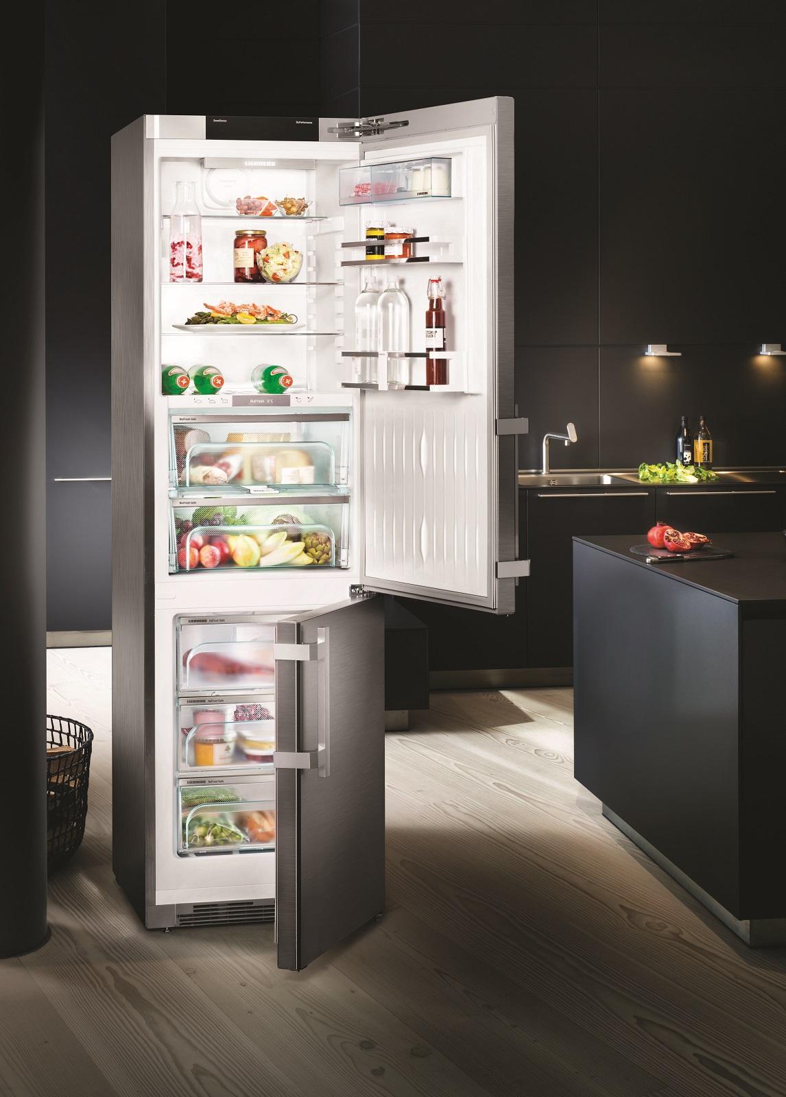купить Двухкамерный холодильник Liebherr CBNies 4878 Украина фото 8