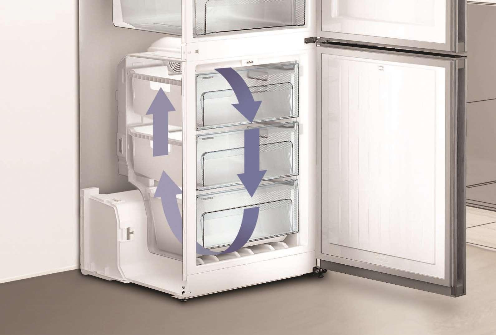 купить Двухкамерный холодильник Liebherr CNef 4813 Украина фото 10