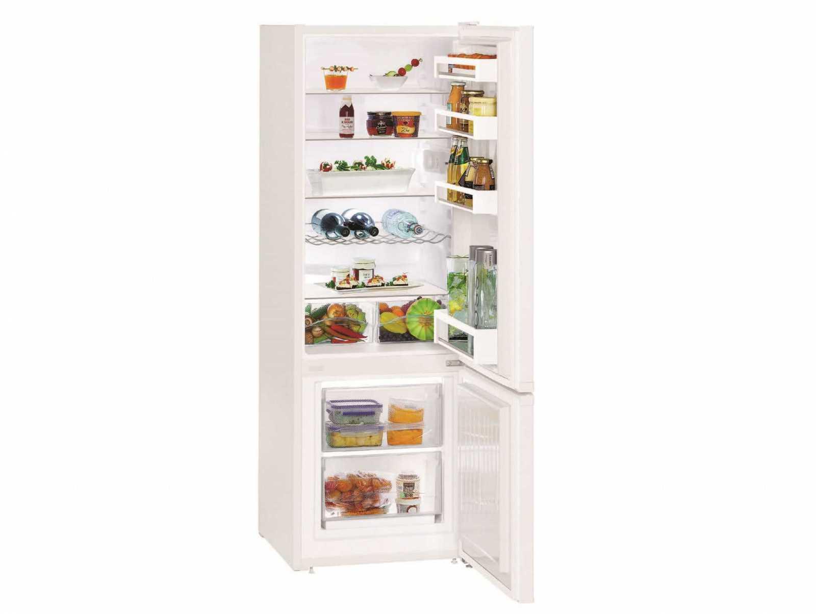 Двухкамерный холодильник Liebherr CU 2831 купить украина