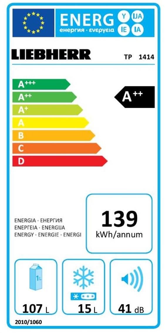 купить Малогабаритный холодильник Liebherr TP 1414 Украина фото 1