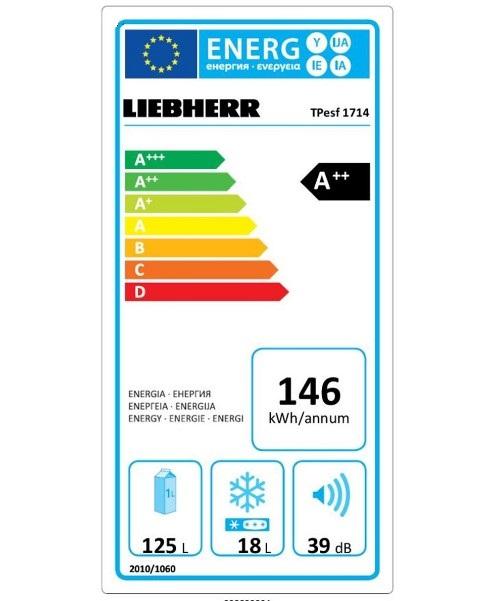купить Малогабаритный холодильник Liebherr TPesf 1714 Украина фото 2