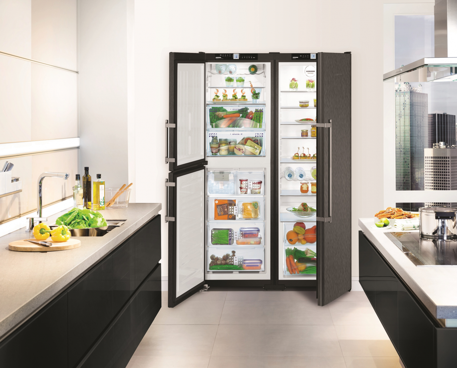 купить Side-by-Side холодильник Liebherr SBSbs 7353 Украина фото 5