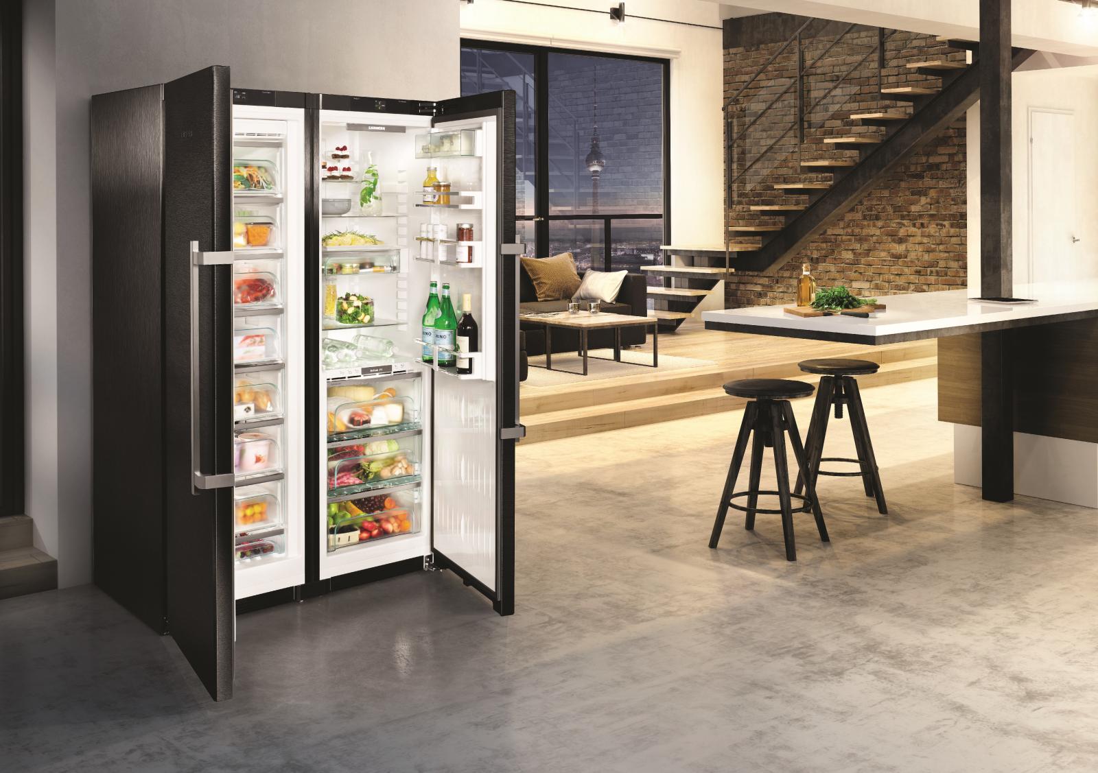 купить Side-by-Side холодильник Liebherr SBSbs 8673 Украина фото 7
