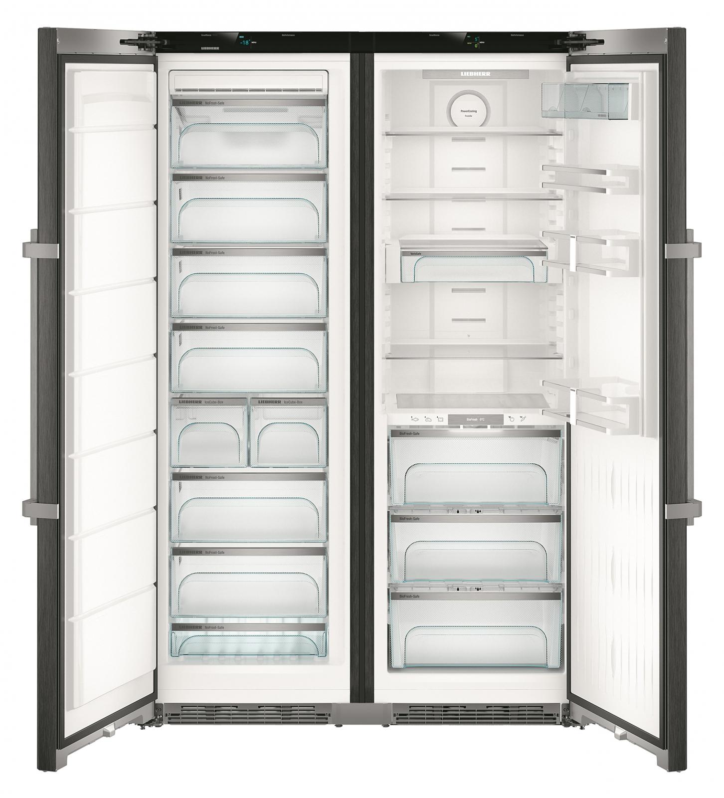 купить Side-by-Side холодильник Liebherr SBSbs 8673 Украина фото 2