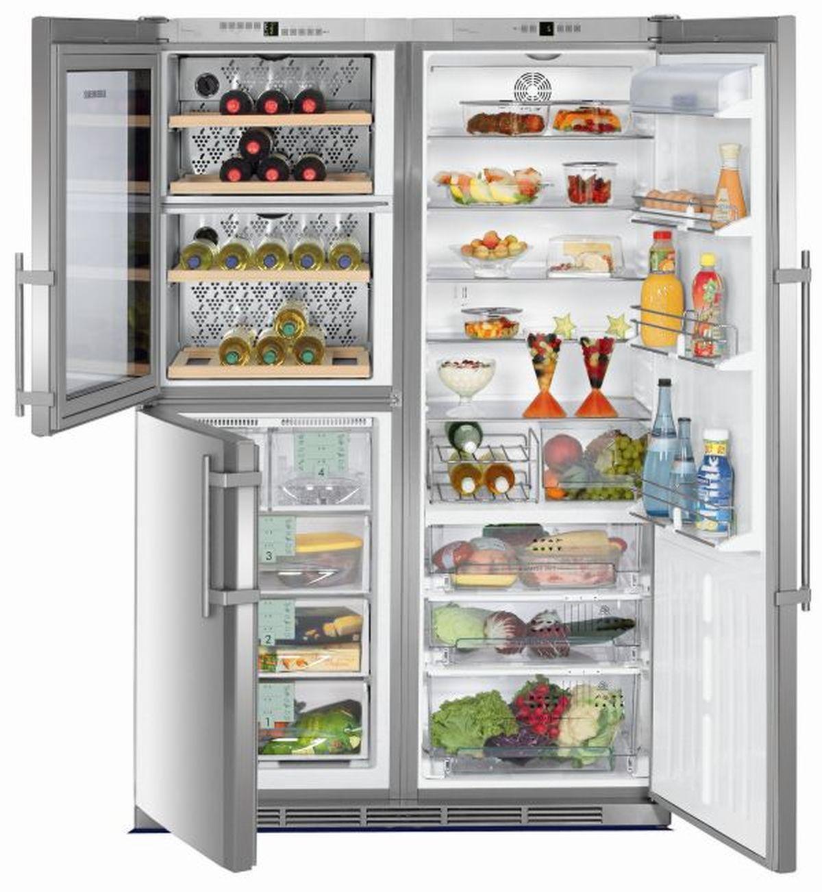 купить Side-by-Side холодильник Liebherr SBSes 7053 Украина фото 3