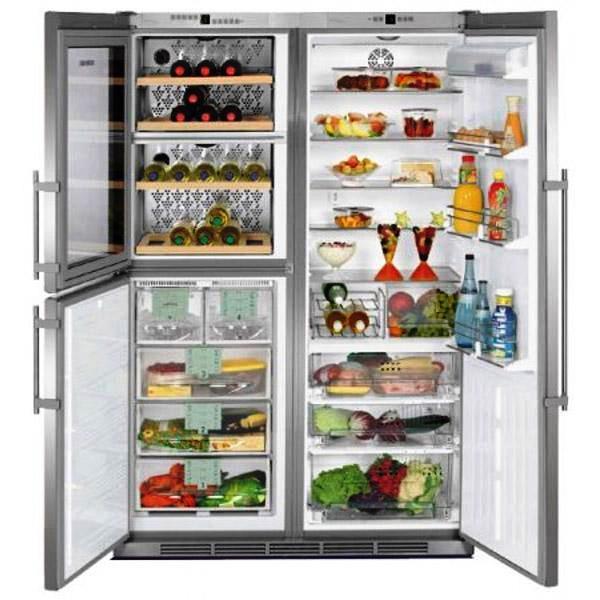 купить Side-by-Side холодильник Liebherr SBSes 7053 Украина фото 0