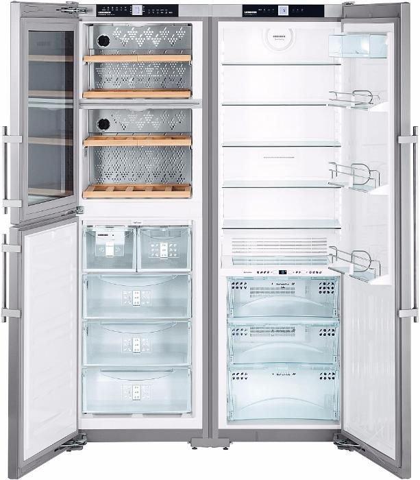 купить Side-by-Side холодильник Liebherr SBSes 7155 Украина фото 3
