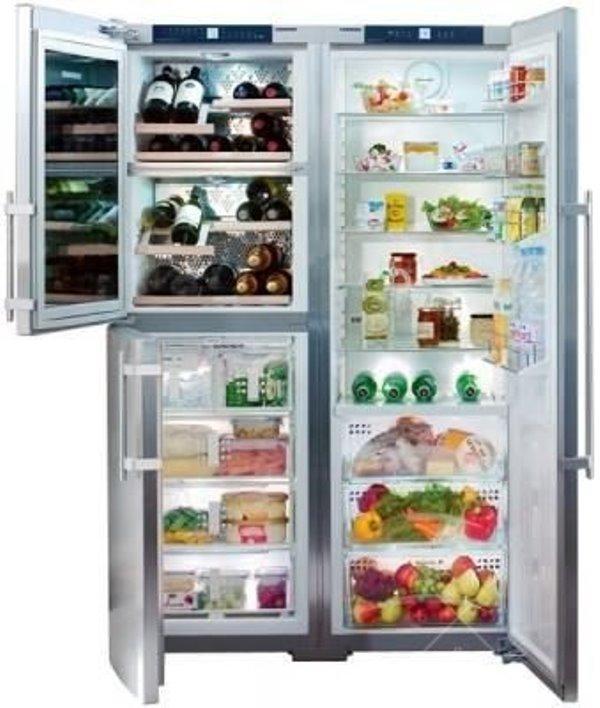 купить Side-by-Side холодильник Liebherr SBSes 7155 Украина фото 4