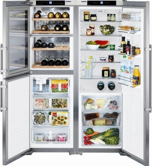 купить Side-by-Side холодильник Liebherr SBSes 7155 Украина фото 0