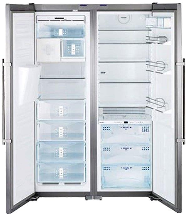 купить Side-by-Side холодильник Liebherr SBSes 7273 Украина фото 2