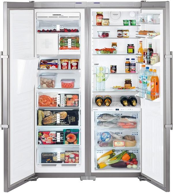 купить Side-by-Side холодильник Liebherr SBSes 7273 Украина фото 0