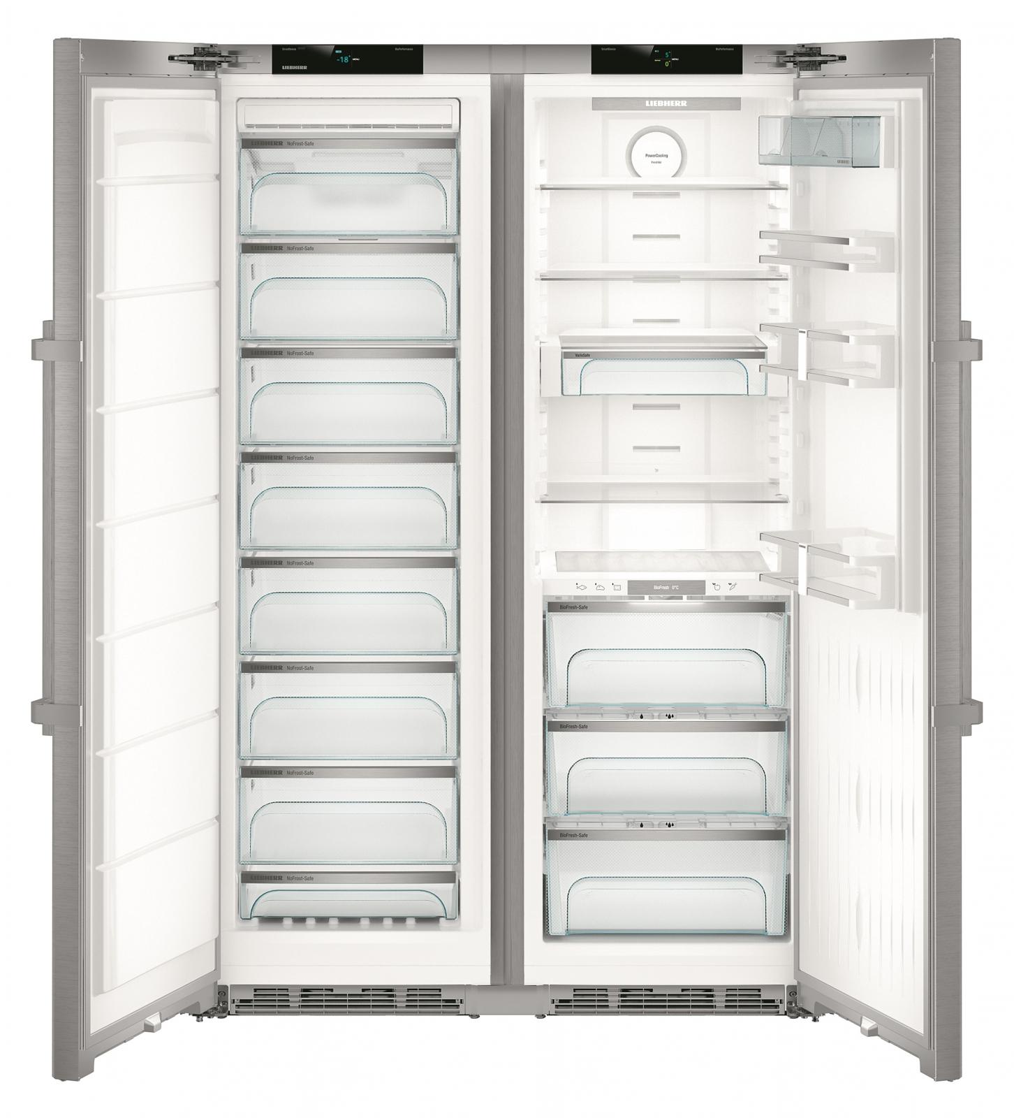 купить Side-by-Side холодильник Liebherr SBSes 8663 Украина фото 2