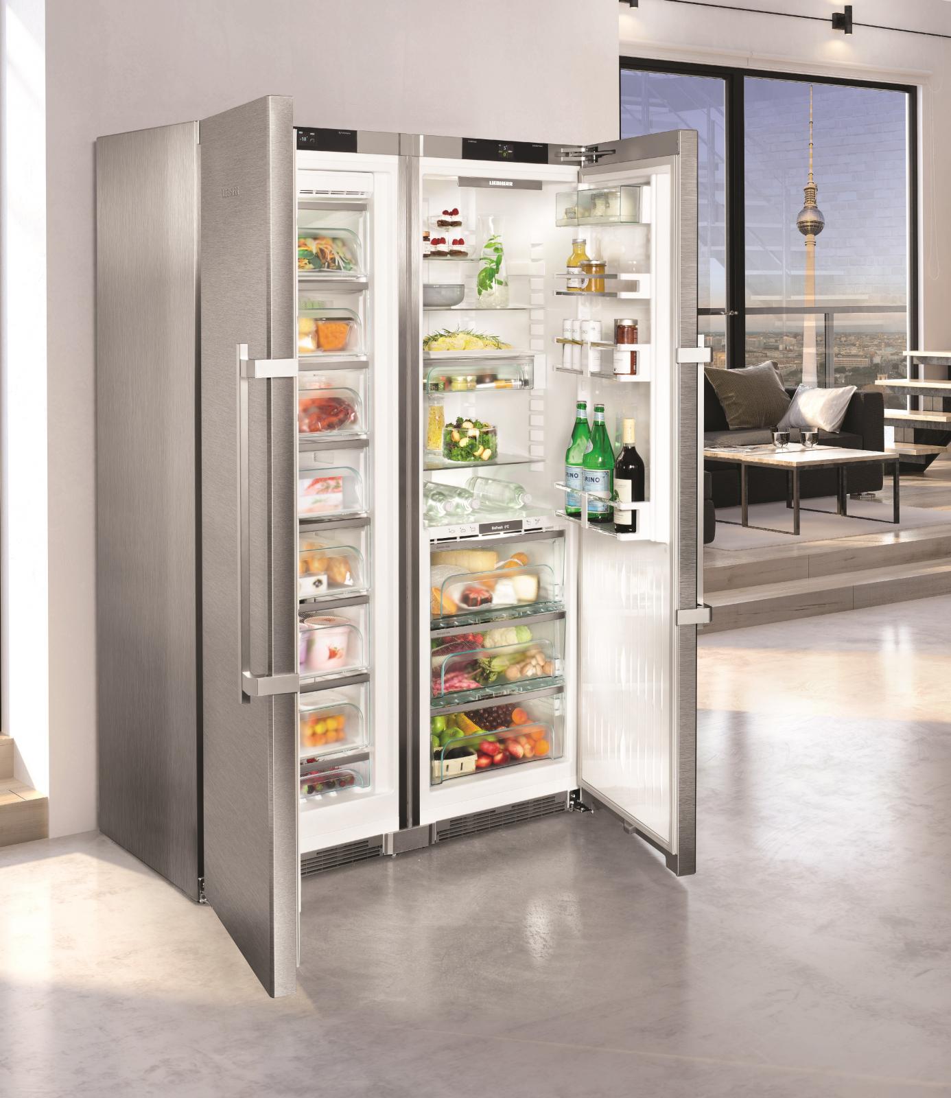 купить Side-by-Side холодильник Liebherr SBSes 8663 Украина фото 7