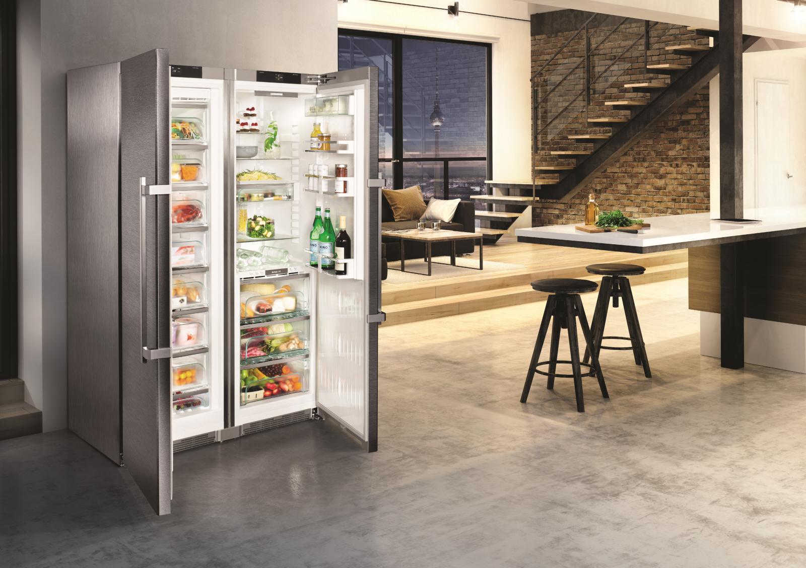 купить Side-by-Side холодильник Liebherr SBSes 8663 Украина фото 8