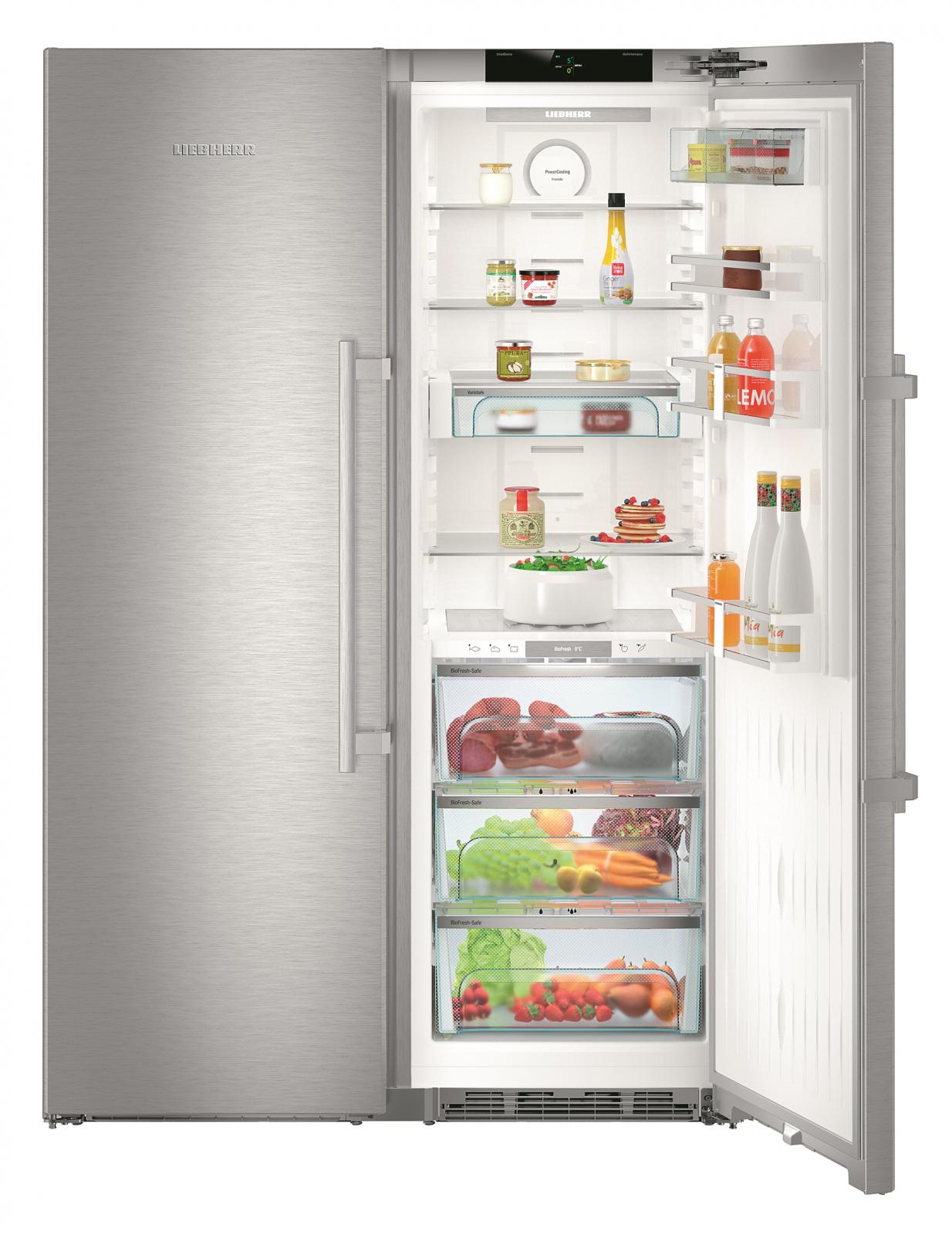 купить Side-by-Side холодильник Liebherr SBSes 8663 Украина фото 4